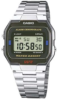 Наручные мужские часы Casio A-163WA-1