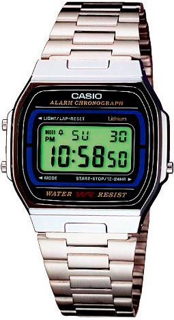 Наручные мужские часы Casio A-164WA-1