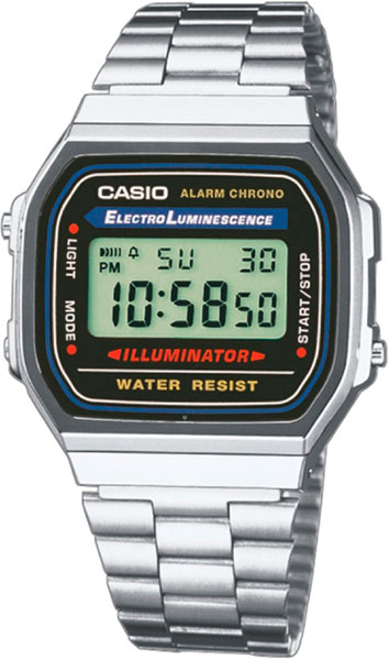 Наручные мужские часы Casio A-168WA-1