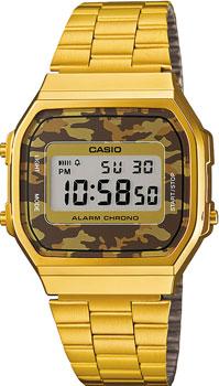 Наручные мужские часы Casio A-168WEGC-3E