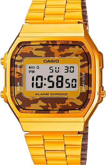 Наручные мужские часы Casio A-168WEGC-5E