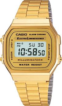 Наручные мужские часы Casio A-168WG-9