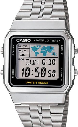 Наручные мужские часы Casio A-500WEA-1E