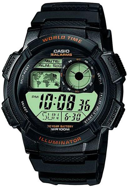 Наручные мужские часы Casio AE-1000W-1A