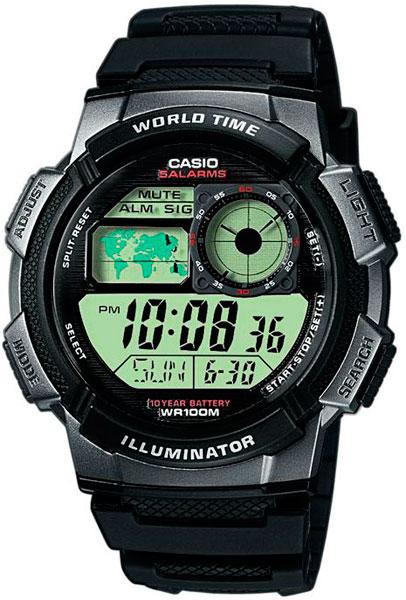Наручные мужские часы Casio AE-1000W-1B