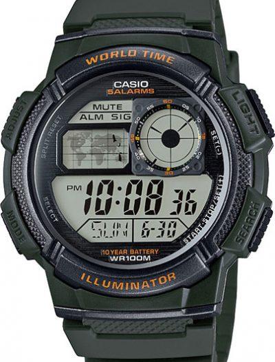 Наручные мужские часы Casio AE-1000W-3A