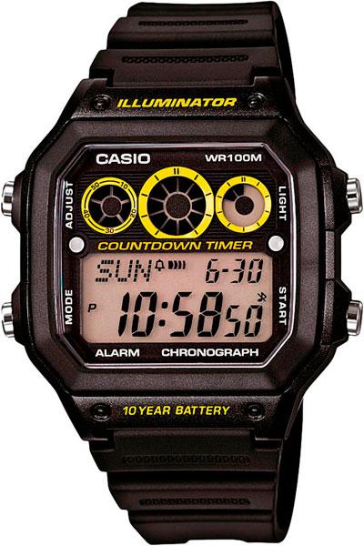 Наручные мужские часы Casio AE-1300WH-1A