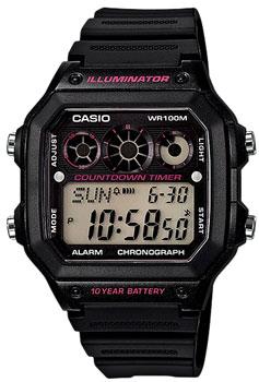 Наручные мужские часы Casio AE-1300WH-1A2