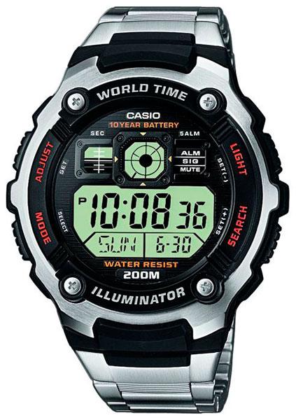 Наручные мужские часы Casio AE-2000WD-1A