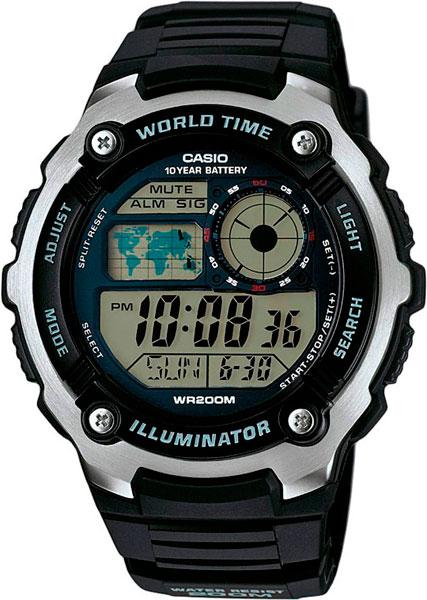 Наручные мужские часы Casio AE-2100W-1A