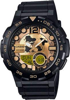Наручные мужские часы Casio AEQ-100BW-9A