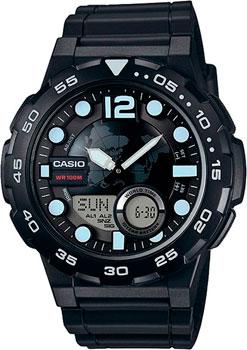 Наручные мужские часы Casio AEQ-100W-1A