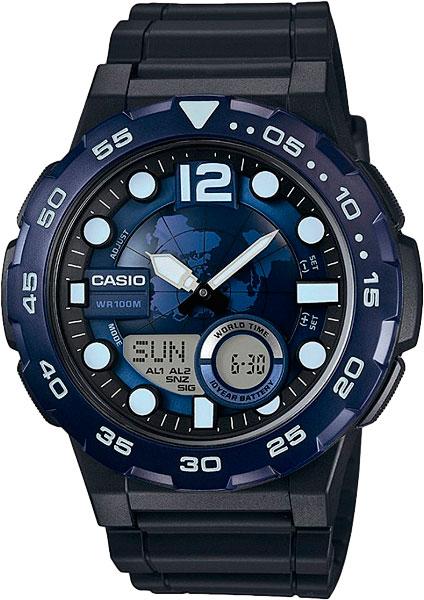 Наручные мужские часы Casio AEQ-100W-2A