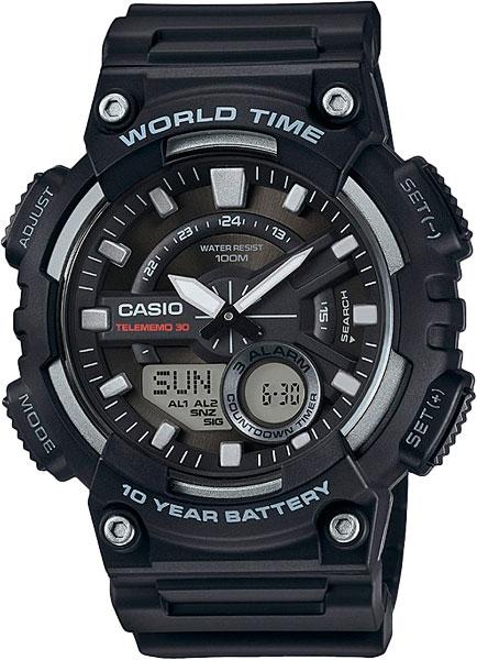 Наручные мужские часы Casio AEQ-110W-1A