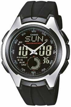 Наручные мужские часы Casio AQ-160W-1B