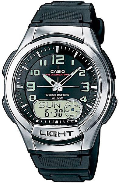 Наручные мужские часы Casio AQ-180W-1B
