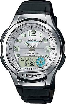 Наручные мужские часы Casio AQ-180W-7B