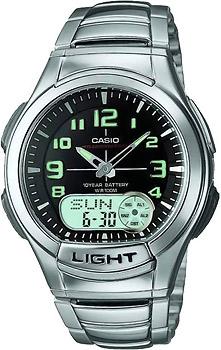 Наручные мужские часы Casio AQ-180WD-1B
