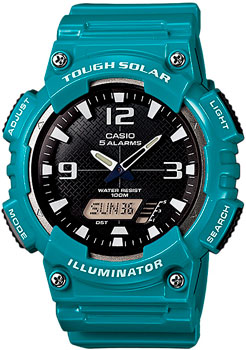 Наручные мужские часы Casio AQ-S810WC-3A