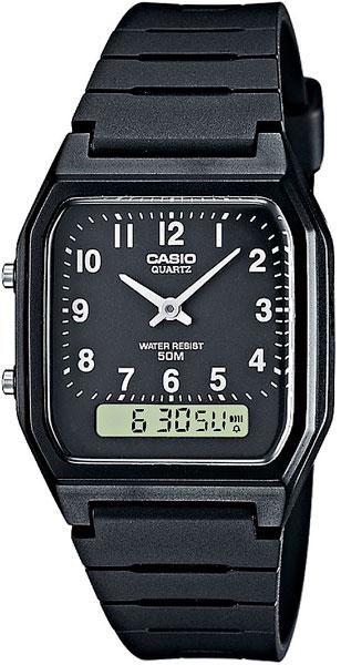 Наручные мужские часы Casio AW-48H-1B