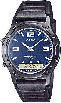 Наручные мужские часы Casio AW-49HE-2A
