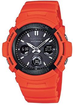 Наручные мужские часы Casio AWG-M100MR-4A