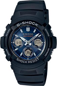 Наручные мужские часы Casio AWG-M100SB-2A