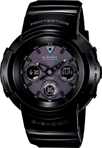 Наручные мужские часы Casio AWG-M510BB-1A