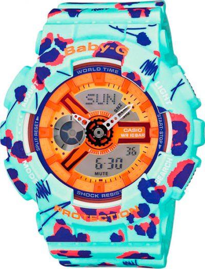 Наручные женские часы Casio BA-110FL-3A