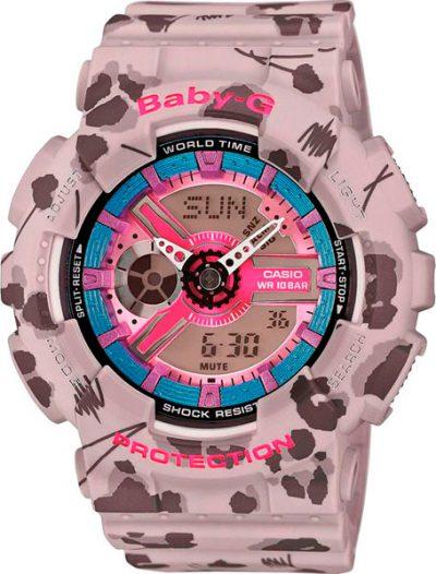 Наручные женские часы Casio BA-110FL-8A