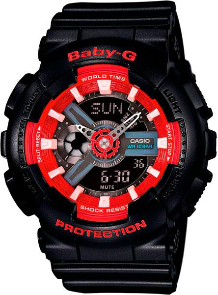 Наручные женские часы Casio BA-110SN-1A
