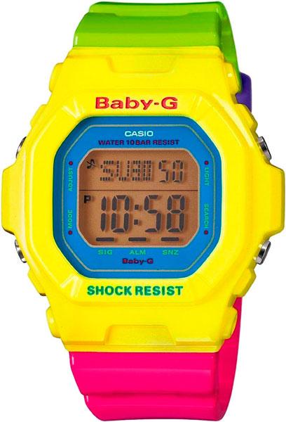 Наручные женские часы Casio BG-5607-9E