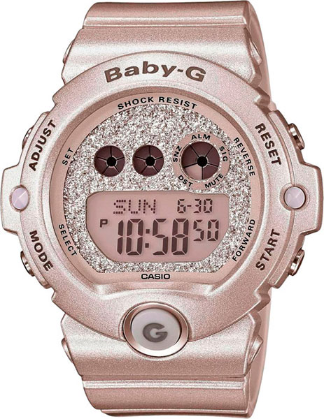 Наручные женские часы Casio BG-6900SG-8E