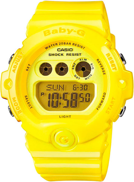 Наручные женские часы Casio BG-6902-9E