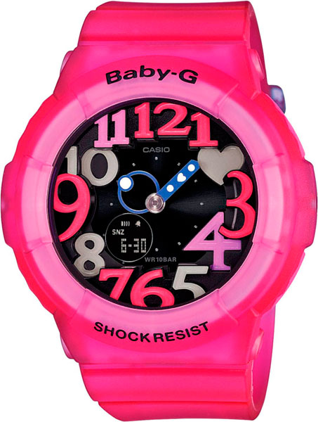 Наручные женские часы Casio BGA-131-4B4