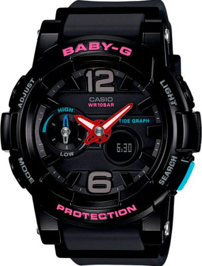 Наручные женские часы Casio BGA-180-1B