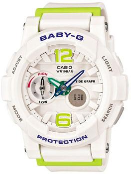 Наручные женские часы Casio BGA-180-7B2