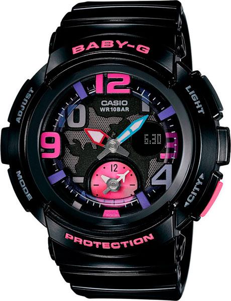 Наручные женские часы Casio BGA-190-1B