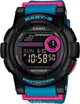 Наручные женские часы Casio BGD-180-2E