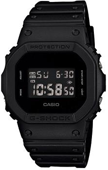 Наручные мужские часы Casio DW-5600BB-1E