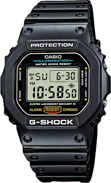 Наручные мужские часы Casio DW-5600E-1V