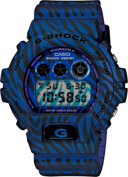 Наручные мужские часы Casio DW-6900ZB-2E