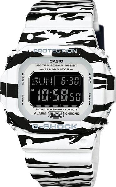 Наручные мужские часы Casio DW-D5600BW-7E