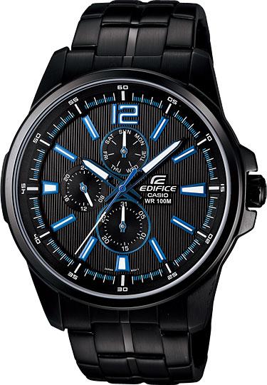 Наручные мужские часы Casio EF-343BK-1A