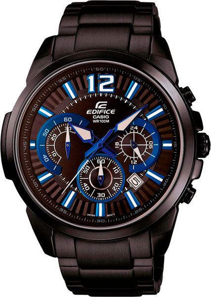 Наручные мужские часы Casio EFR-535BK-1A2