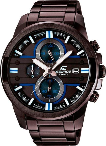 Наручные мужские часы Casio EFR-543BK-1A2