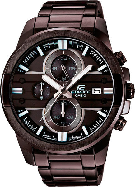 Наручные мужские часы Casio EFR-543BK-1A8
