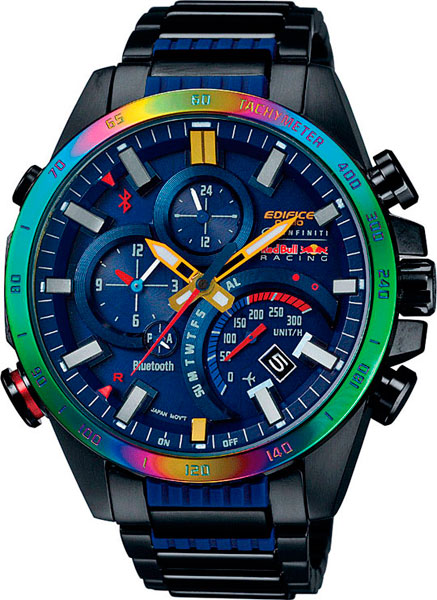 Наручные мужские часы Casio EQB-500RBB-2A