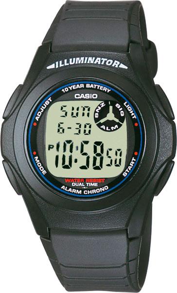 Наручные мужские часы Casio F-200W-1A