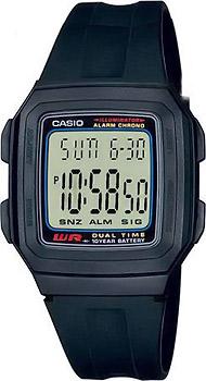 Наручные мужские часы Casio F-201W-1A